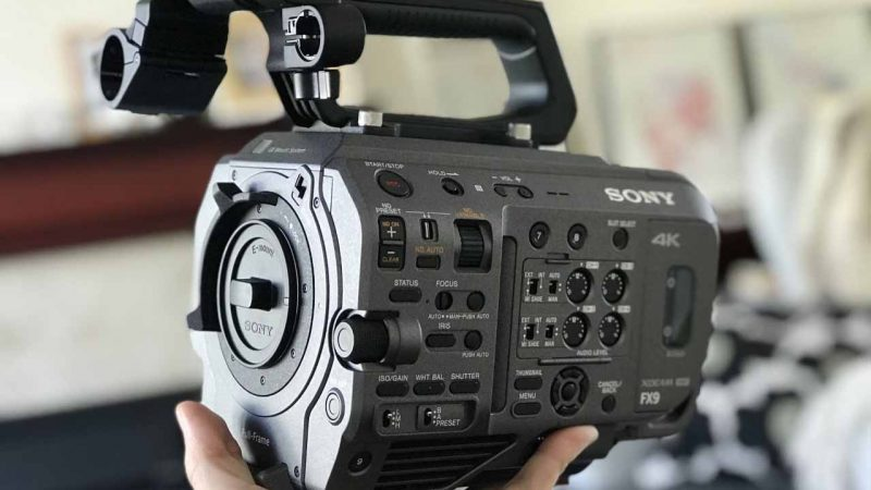 Sony FX9 – First Thoughts